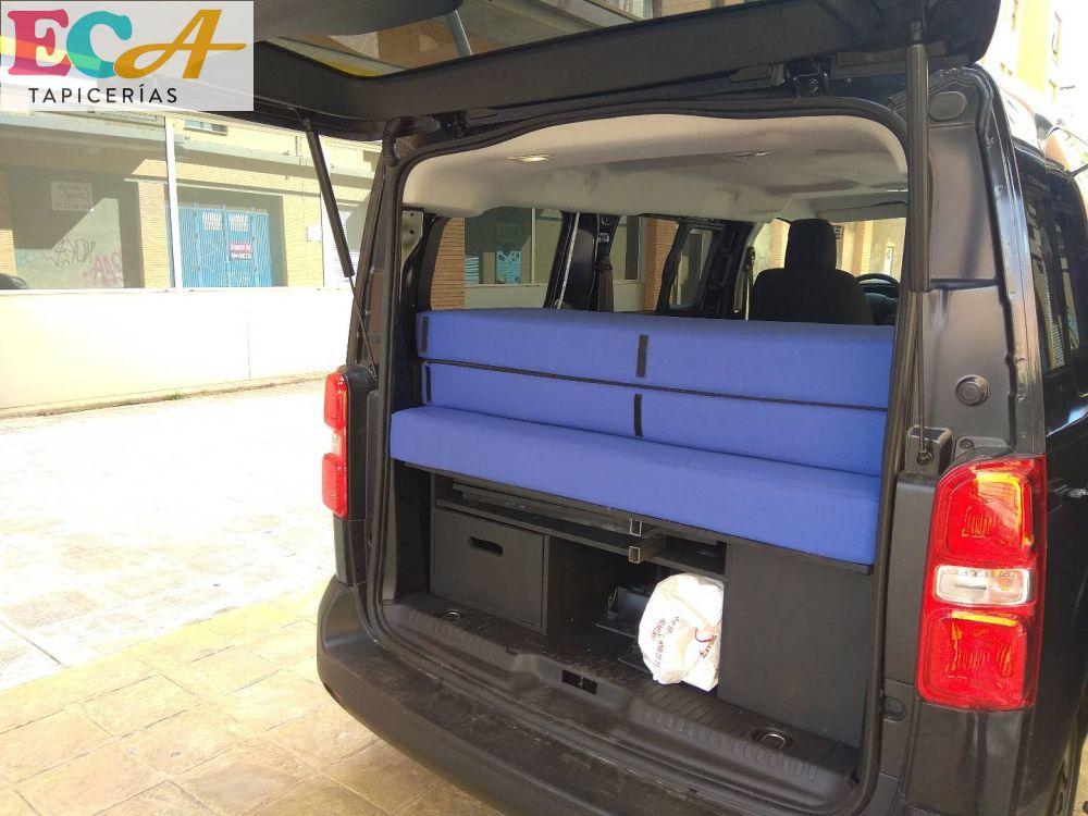 calma furgoneta camperizada tapicero almeria