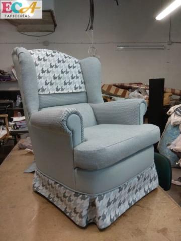 sillón tapizado almería
