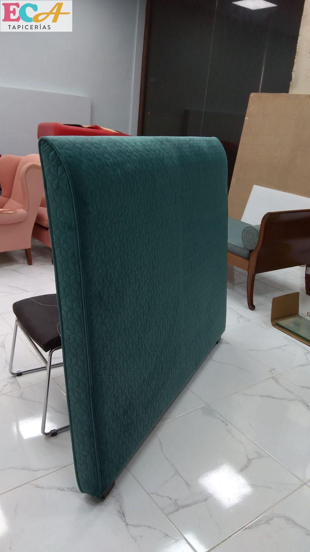 cabecero tapizado en tapiceria almeria