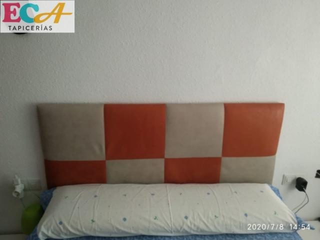Cabecero tapizado personalizado