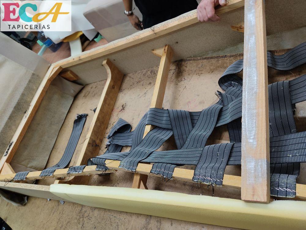 reparar sofa sillon Almería